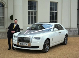 Modern Rolls Royce for weddings in London